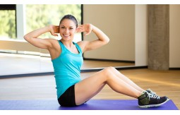 Fitness för kvinnor: en tunn figur